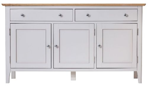 Belmont Painted 3 Door Sideboard